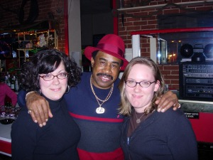 Me, Red Bones, Allison. Red Bones Den. circa 2006 Code Red Blog Days